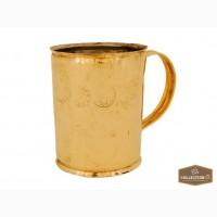 Латунная чашка для походов