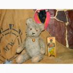 Антикварная Горбатый Мишка Ревун 1930 годов Antique Vintage Teddy Bear