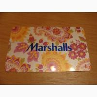 Карточка подарочная Marshalls