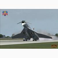 Сборная модель самолетаТу-144 и Руслан Ан-124