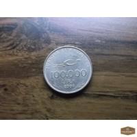 Турция,100.000 lira 2000 год 75 лет Турецкой Республике!