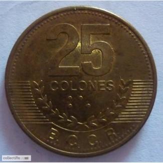25 колон Коста-Рика