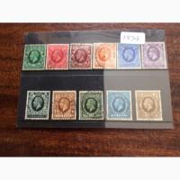 11 марок короля Великобритании Георга V