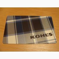Карточка подарочная KOHLS