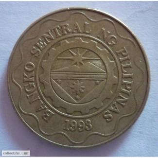1 и 5 песо Филипины