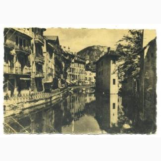 Открытка (ПК). Франция. Анси. 1943 г. Лот 49