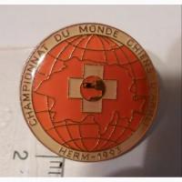 Значок чемпіонату світу собачих змагань, 1993 рік (Швейцарія)