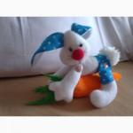 Интерьерная игрушка Зайка