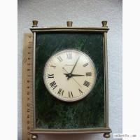 Часы каминные Молния в нат. каменном корпусе, 40-50гг