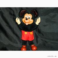 Винтажная Игрушка Микки Маус Mickey Mouse Disney Applause 1981
