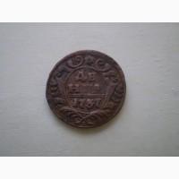 Деньга 1737г