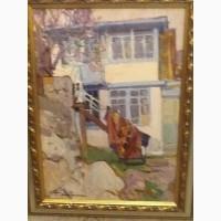 Продам картину Столяренко П.К, Дом в Гурзуфе