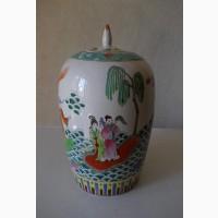 Большая Китайская керамическая ваза
