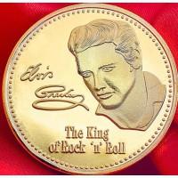 Сувенир-медаль памяти Элвиса Пресли