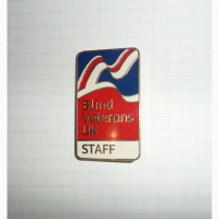 Значок «Сліпий ветеран Великобританії»