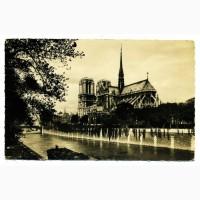 Открытка (ПК). Париж. Notre-Dame. Лот 113