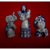 Миниатюрные фарфоровые статуэтки