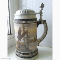 Пивной коллекционний бокал 0.5 литр. ГЕРМАНИЯ
