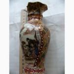 Ваза Китайский фарфор, эмали, времён СССР