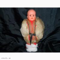 Винтажная Кукла в шубке