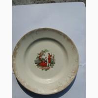 Продам старинные тарелки каменный брод