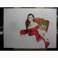 Портрет маслом на заказ в Киеве от профессионального художника портретиста!
