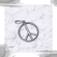 Срібний кулон «Знак Миру»