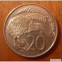 20 центов 1978 Новая Зиландия