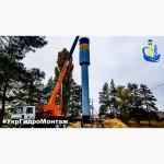 Водонапорные башни ВБР 100-160 Изготовление, монтаж и установка
