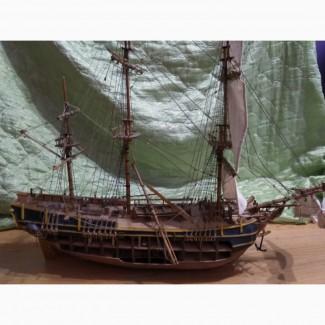 Продам модель корабля, парусника, 5000