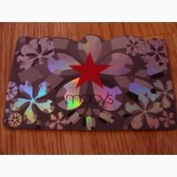 Карточка подарочная Macy's