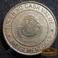 Жетон CIRCUS CIRCUS Token no cash value amusement
