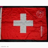 Футбольный флаг Швейцария Switzerland 2008 Groupe Mutuel Football