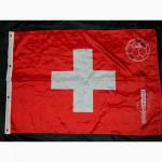 Футбольный флаг Швейцария Switzerland 2008 Groupe Mutuel Football
