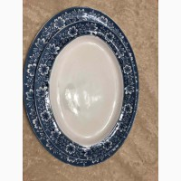 Oval Serving Platter Turin Blue (Flow Blue) by JOHNSON BROTHERS блюдо
