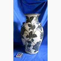 Китайская старинная керамическая ваза
