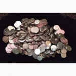 Один килограмм монет по 1 и 2 коп. Украина