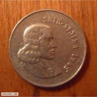 5 центов ЮАР 1965