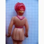 Старинные Целлулоидные куклы 2 шт. по 8см. мальчик и девочка 20-30годы