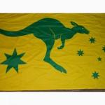 Флаг с кенгуру Австралия - Australia - Австралийский Прапор 88-152см