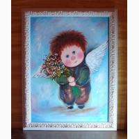 Что подарить на День рождения -картину Мой зимний ангел