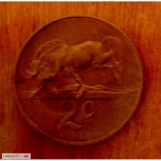 2 цента ЮАР 1965