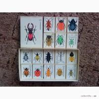 Продам сувенирный набор спичечных этикеток ЖУКИ