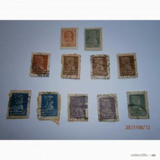 Продам марки Красноармеец