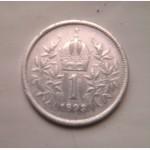 1 крона 1893 Серебро старинное