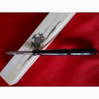 Старинная перовая ручка в перламутровом футляре