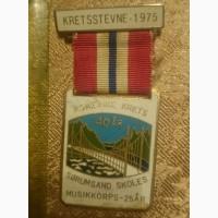 Медаль Kretsstevne 1975 (Норвегія)