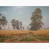 Продам картину (репродукция )И.И. Шишкин – «Рожь» масло, холст, 50-е гг