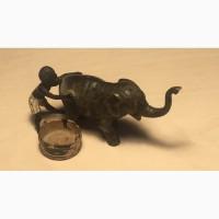 Венская полихромная бронза, Мальчик купает слона''кон19- нач20 Вв