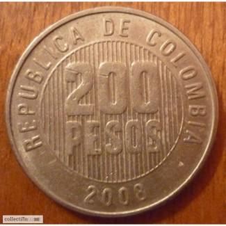 200 песос Колумбия